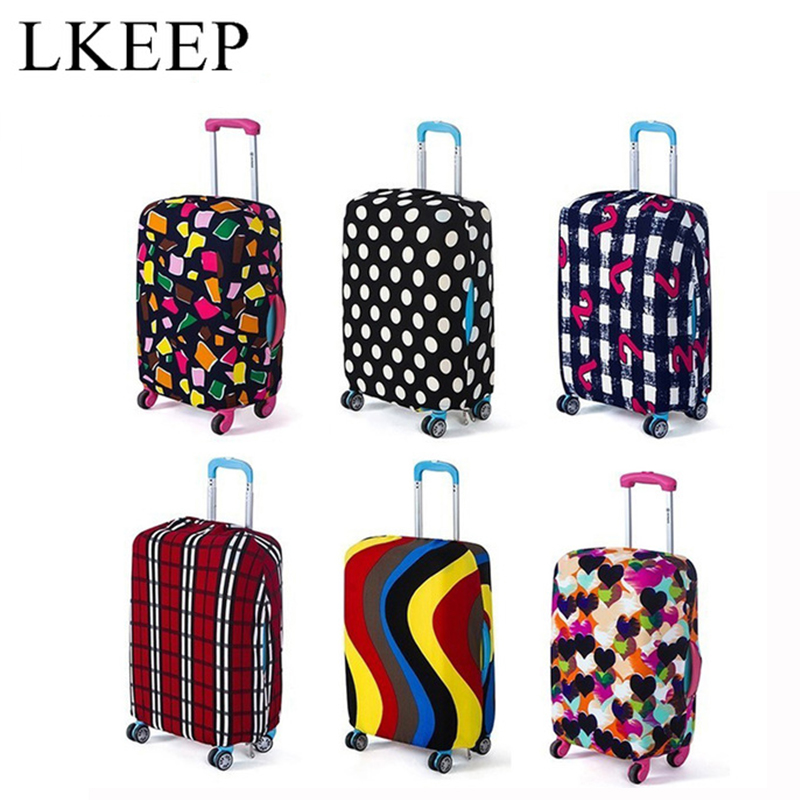 Suitcase Cover Travel On Road Luggage Cover Protective Trolley Case Travel Luggage Dust Cover For 18 To 30inch