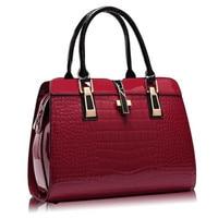 Patent Leather Women Bag Cross Shaped Handbag Luxury Quality Lady Shoulder Crossbody Bags Fringed Female Messenger