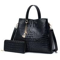 Fashion PU Leather Big Shoulder Bags 2018 Brand Women Chains Bag High Quality Ladies Tote Bag Female Coin Purses And Handbags