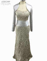 2015 New Arrival Mother Of The Bride Dress Wedding Guest Outfit Long Formal Wedding Party GownS