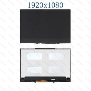 Image 1 - 13.3 LCD dokunmatik ekran digitizer Için LCD Meclisi Lenovo Yoga 730 13 P/N 5D10Q89746 5D10Q40010 5D10Q89743
