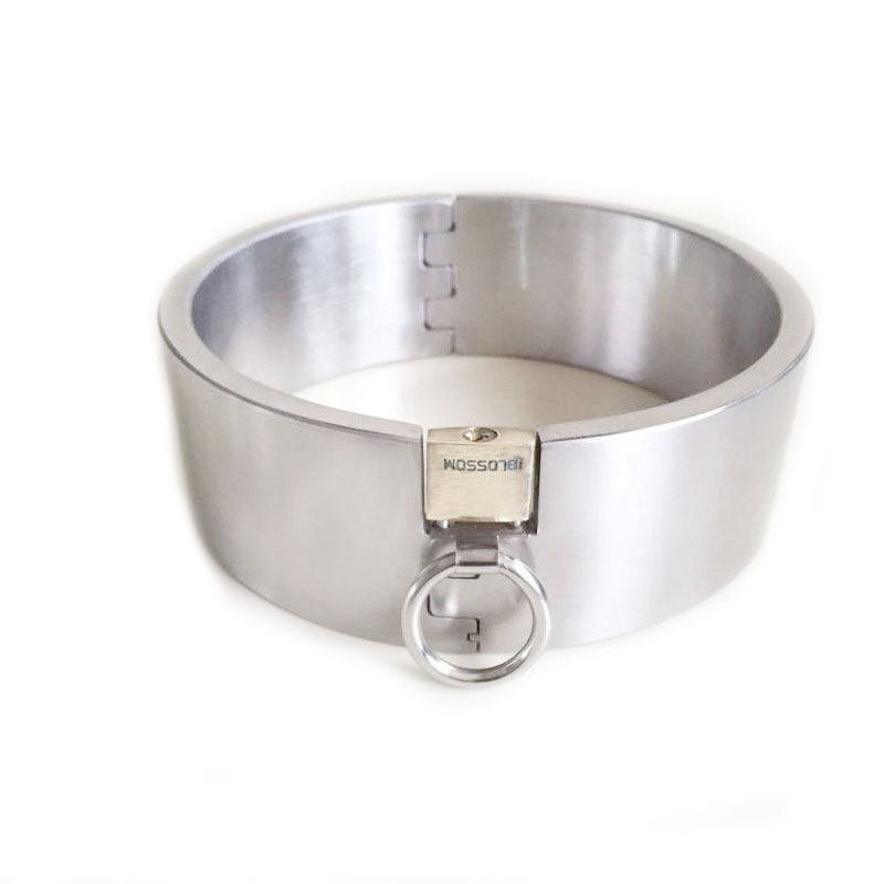 5cm High Bondage <font><b>Collar</b></font> Stainless Steel <font><b>Sex</b></font> <font><b>Collars</b></font> Super Weight Slave <font><b>Dog</b></font> <font><b>Collar</b></font> <font><b>Sex</b></font> Toys for Couples Adult Game image