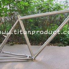 Титановая рамка Cyclo-cross с внутренним закруглением кабеля, дисковым тормозом, креплениями для стойки и брызговика