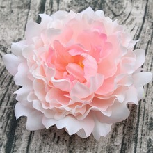 8 Colors 1 Pieces 15cm Peony Flower Head Artificial Flowers For WeddingS Bride Bouquet Flowers Decor DIY Home Party Decoration