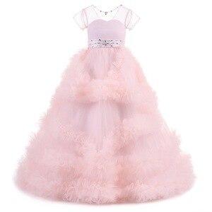 Image 5 - חדש ילדים תחרות ערב שמלות יום הולדת costum כדור שמלת ילדים ערב שמלה ראשית הקודש שמלות עבור בנות