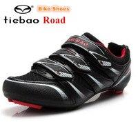 TIEBAO road Cycling Shoes zapatillas deportivas mujer Bike Shoes Self locking Bike Bicycle Shoes sapatilha ciclismo outdoor shoe
