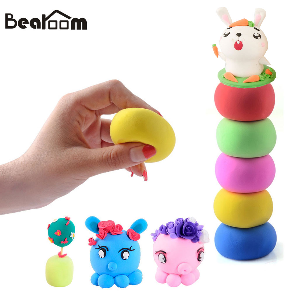Well-Educated Polymer Foam Clay Modelling Clay With Tools 24 Colors Special Toys Polymer Slime Kids Gift Toy Light Clay New Toy Gift Durable In Use Learning & Education Toys & Hobbies