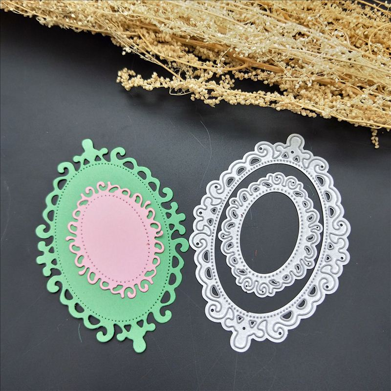 new 2018 metal cutting dies frame dies-cutting mold clip art embossed stationery suite DIY arts and crafts stencils