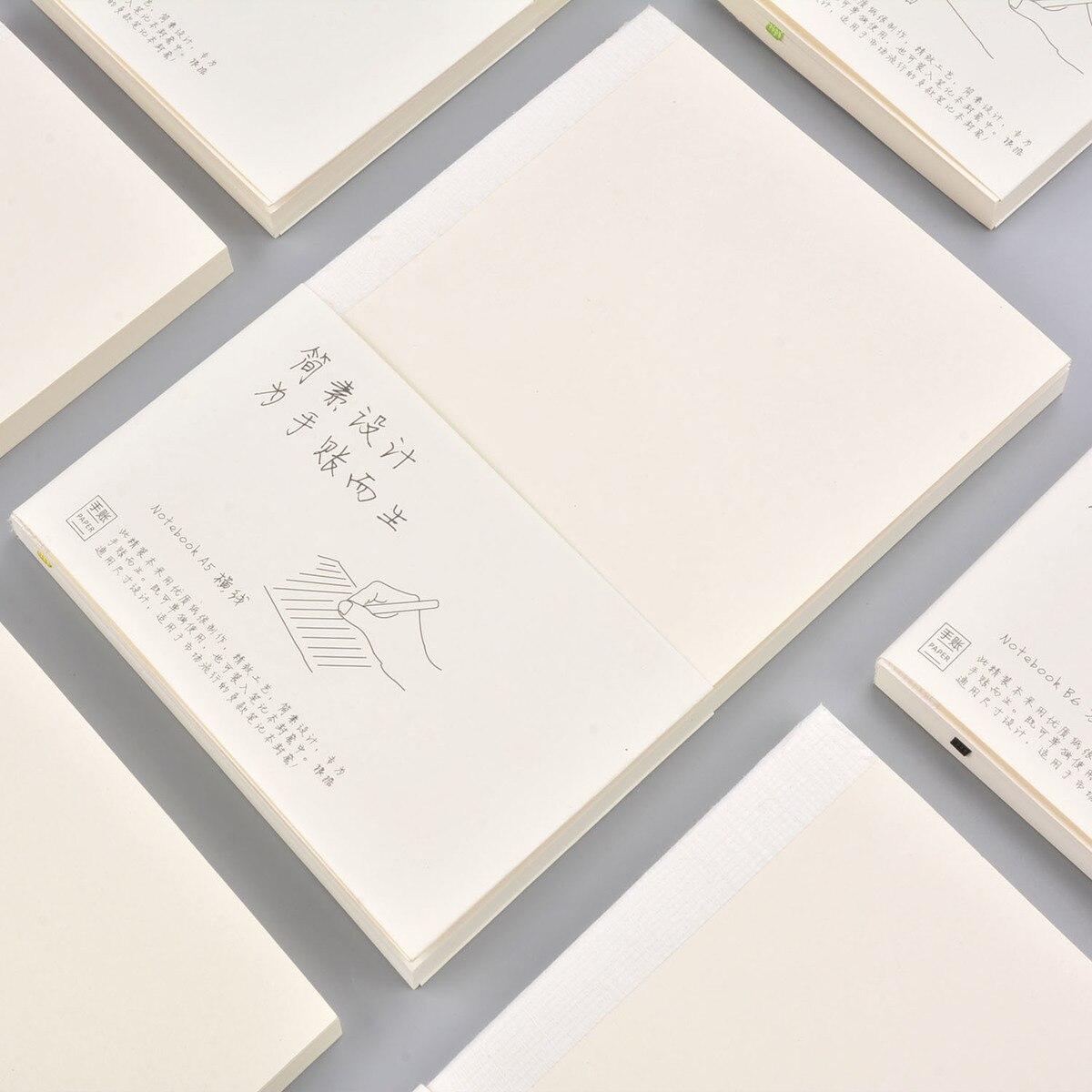 Совершенно новый планировщик, вставляемый дневник, Заправка для А5, А6, размер, блокнот, Обложка, сетка, пустая, 100 г, бумага, японский журнал, повестка дня, пуля