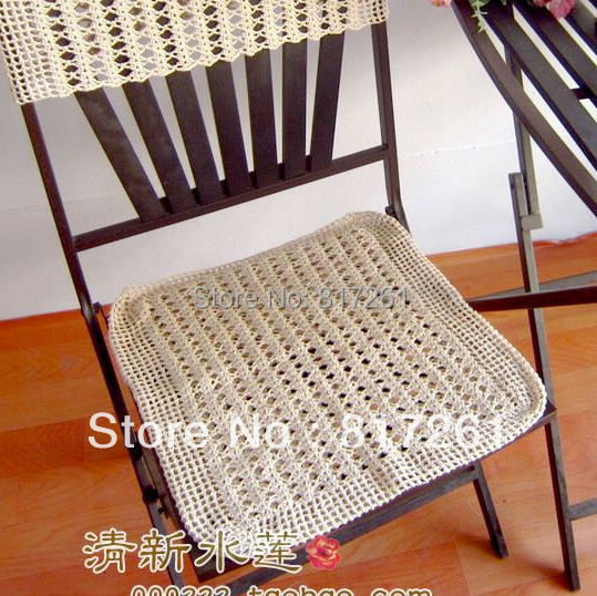 Free shipping cotton crochet lace chair cushion for chair  : Free shipping cotton crochet lace chair cushion for chair back sleeve dining chair pad 100 cotton from www.aliexpress.com size 539 x 538 jpeg 128kB