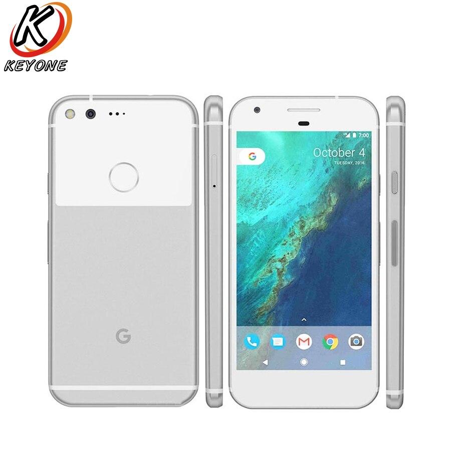 Original US version Google Pixel 4G LTE Mobile phone 5.0 4GB RAM 32GB/128GB ROM Snapdragon 821 Android Fingerprint Smart Phone