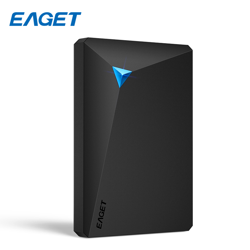 EAGET External Hard Drive 1TB HDD 2.5 USB 3.0 Desktop Laptop High Speed Hard Disk 2TB Shockproof External Hard Disk 500GB 3TB g90 500gb 1tb hdd 2 5 ultra thin usb 3 0 high speed external hard drives portable laptop shockproof mobile hard disk hot