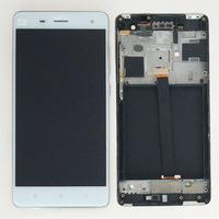 White Touch Screen Digitizer LCD Display Assembly Frame For Xiaomi Mi4 Mi 4 M4
