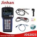 Jinhan JDS2023 цифровой осциллограф 1 канал 20 МГц осциллограф AC/DC входное соединение на продажу Бесплатная доставка