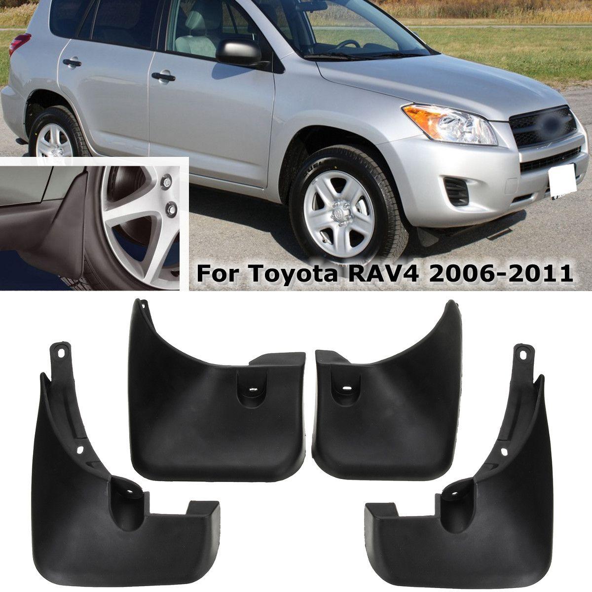 Araba çamur Flaps Splash muhafızları çamurluklar çamurluk çamurluklar aksesuarları Toyota RAV4 2006 2007 2008 2009 2010 2011 2012