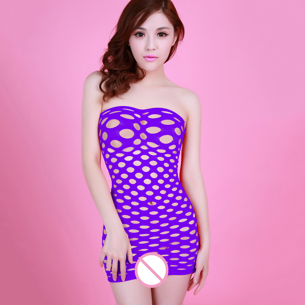 Fishnet Underwear Porn Erotic Lingerie Elasticity Cotton Lenceria Hot Women Sex Costumes Sexy Intimate Sleepwear Baby Doll Dress in Babydolls Chemises from Novelty Special Use