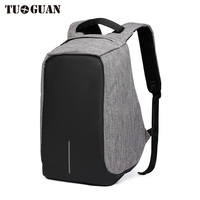 TUGUAN Men Waterproof USB Charging Laptop Backpacks School Reflective Anti Theft Rainproo Back Pack For Male