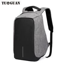 TUGUAN Männer/Frauen Wasserdichte USB Lade Laptop Rucksäcke Schule Reflektierende Diebstahl Rainproo Zurück Pack für Teenager Taschen