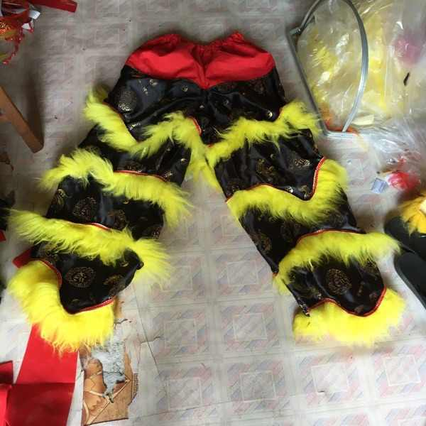 456ba0f62 customized chinese lion dance pants for adults performance clothing kung fu  performance warrior cosplay