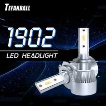 New 2 PCS Car Led Headlights H7 H1 H11/H8/H9 9005/HB3/H10 9006/HB4 H4/HB2/9003 6000K 40W C6S2 Lamps Headlight 1902