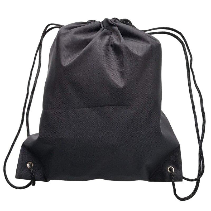 Diskret 6 Pack Rucksack Taschen, 420d Polyester Falten Schulter Tote Sack Cinch Tasche Für Picknick Gym Sport Strand Reise Lagerung Reines Und Mildes Aroma
