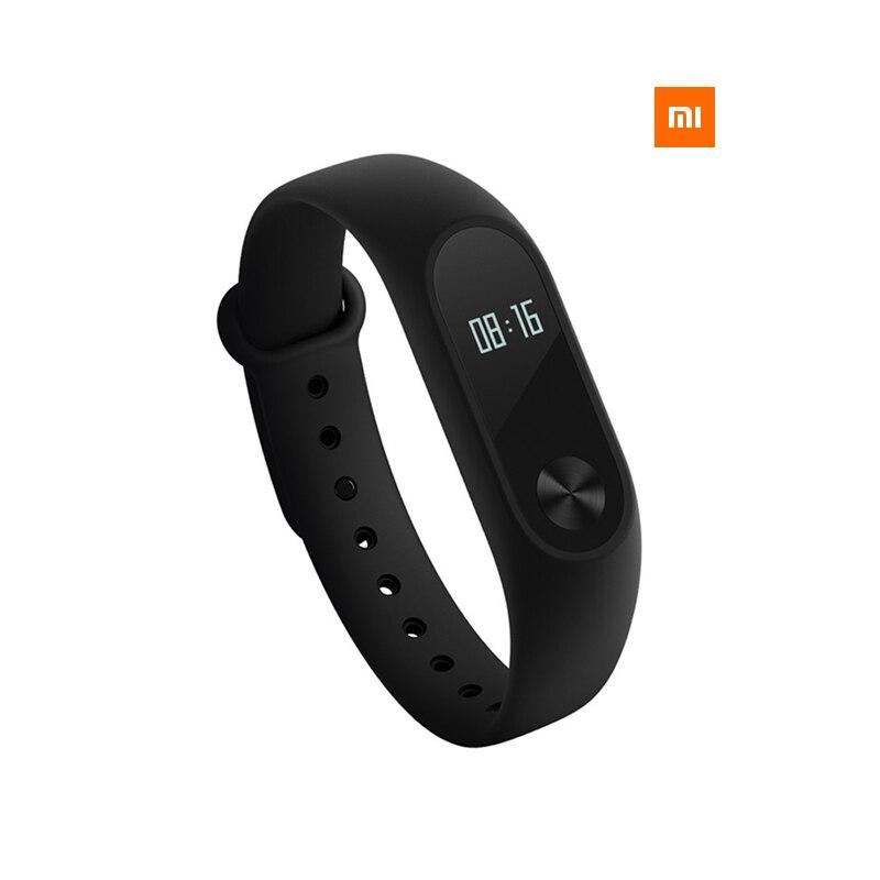 Original Mi band 2 OLED Display Heart Rate Fitness Band Monitor Bluetooth Miband2 Wristband font b