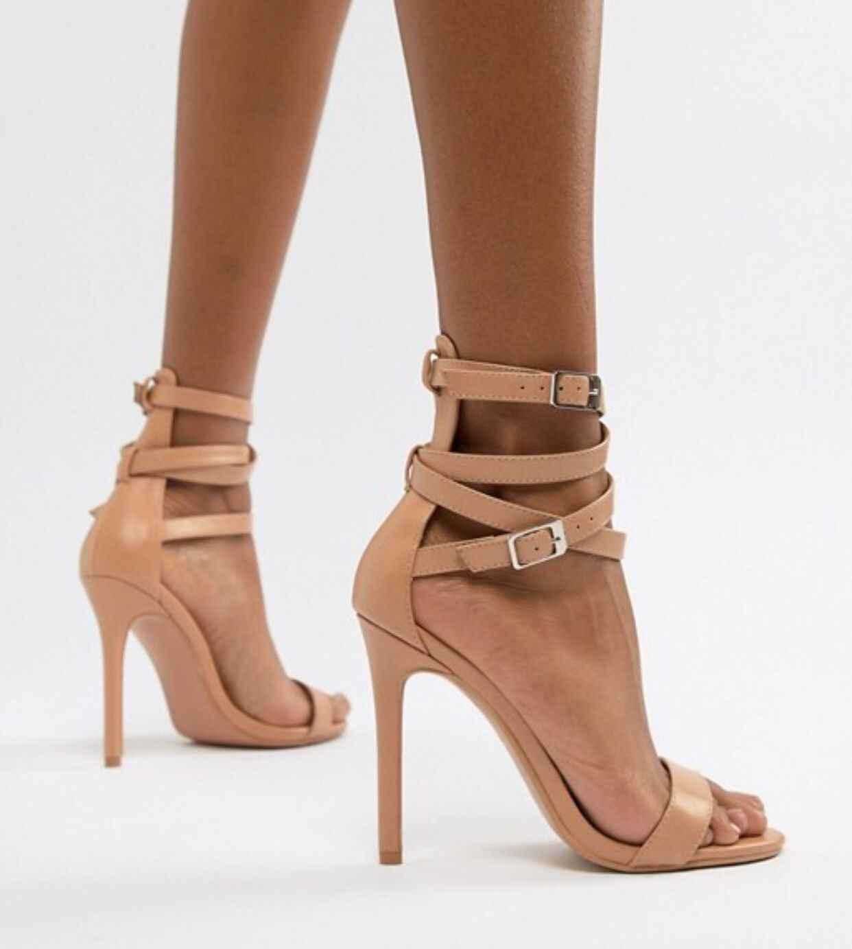 c1ac91719 ... Новые Коричневые женские босоножки на весну 2019 г. модная обувь на высоком  каблуке с перекрестными ...