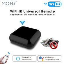 WiFI Smart IR Wireless Remote Control TV Air Condition SAT by Smart Life/Tuya APP,Works with Alexa Echo Google Home