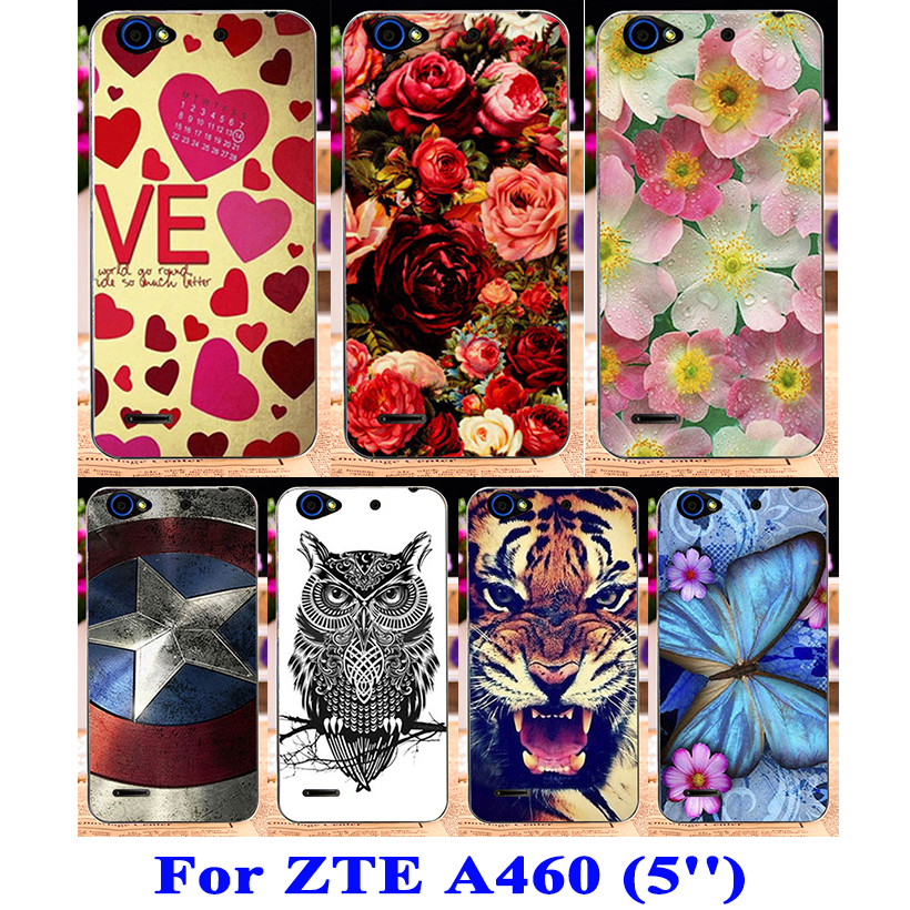 new products 823e0 f5e76 US $1.98 |TAOYUNXI TPU Capa Bumper Phone Cover For ZTE Blade A460 Case 5.0  inch Cover For ZTE A460 Case Fitted Patterned Anime Girls Hood-in Fitted ...