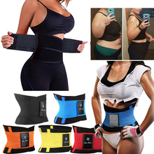 Shaper Sweat Belt Waist Trainer Belly Slimming Shaperwear Tummy Corset Modeling Strap Slim Cinchers For Women Men