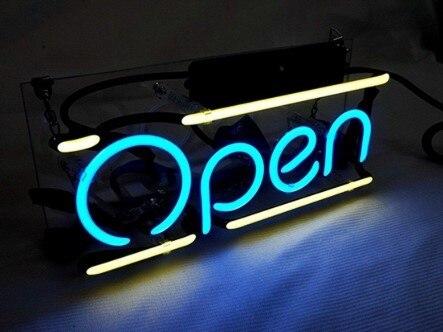 Custom Open Neon Light Sign Beer Bar