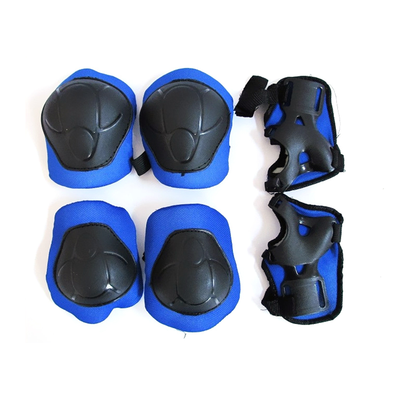 6pcs/set Roller Skating Knee Elbow Wrist Pad for Men Women Kids Safety Protection Skating Cycling Outdoor Sports Gear Guard