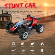 лучшая цена Z108 2.4G 1/10 360 Degree Spinning Stunt RC Car 20km/h High Speed Mecanum Omni Wheel Off-Road Drift Car for Toys Kid Gift
