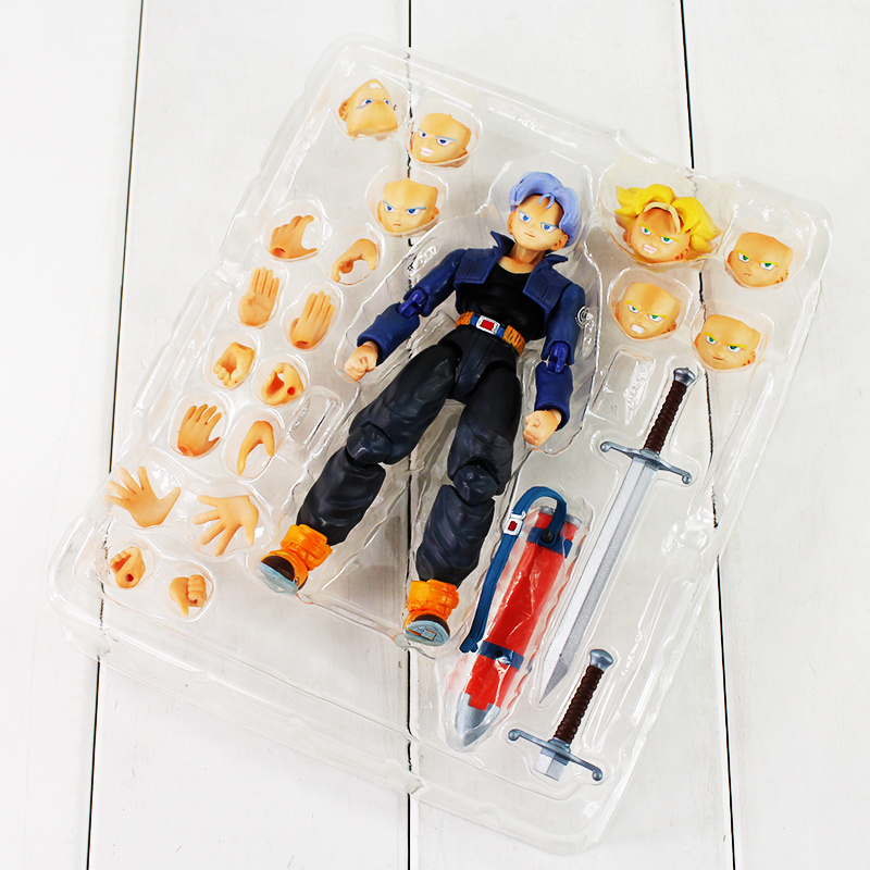 Image 4 - Trunks SHFiguart Dragon Ball Z dragonball PVC Figure Toy with Box-in Action & Toy Figures from Toys & Hobbies