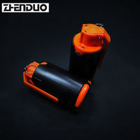 Zhenduo Toy Gel Ball Blaster Model Can Launch Water Bullet Outdoor Fun