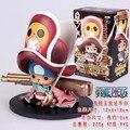 2015 Nona Geração Figura One Piece Chopper Com Arma Modelo Figuras de Ação Do Filme Tony Tony Chopper Box Package # C