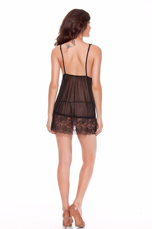 прозрачная юбка вид сзади - 4