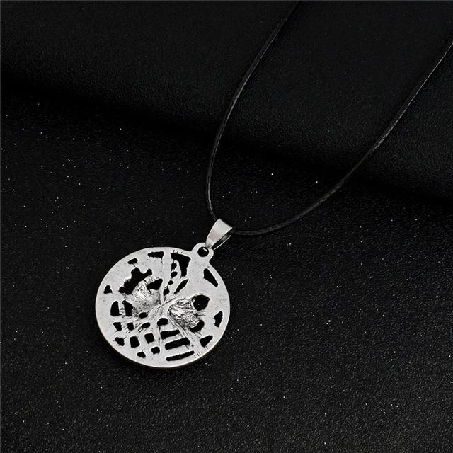 Hollow Nordic Odin Sleipnir Kolovrat Pendant Necklaces Viking chain Vintage Antique silver bronze Men Jewelry Gift for Friend 3