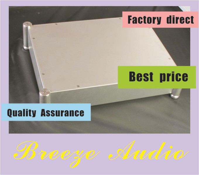 Breeze Audio-4308T Full Aluminum Enclosure / mini AMP case/power amplifier box/ chassis стоимость