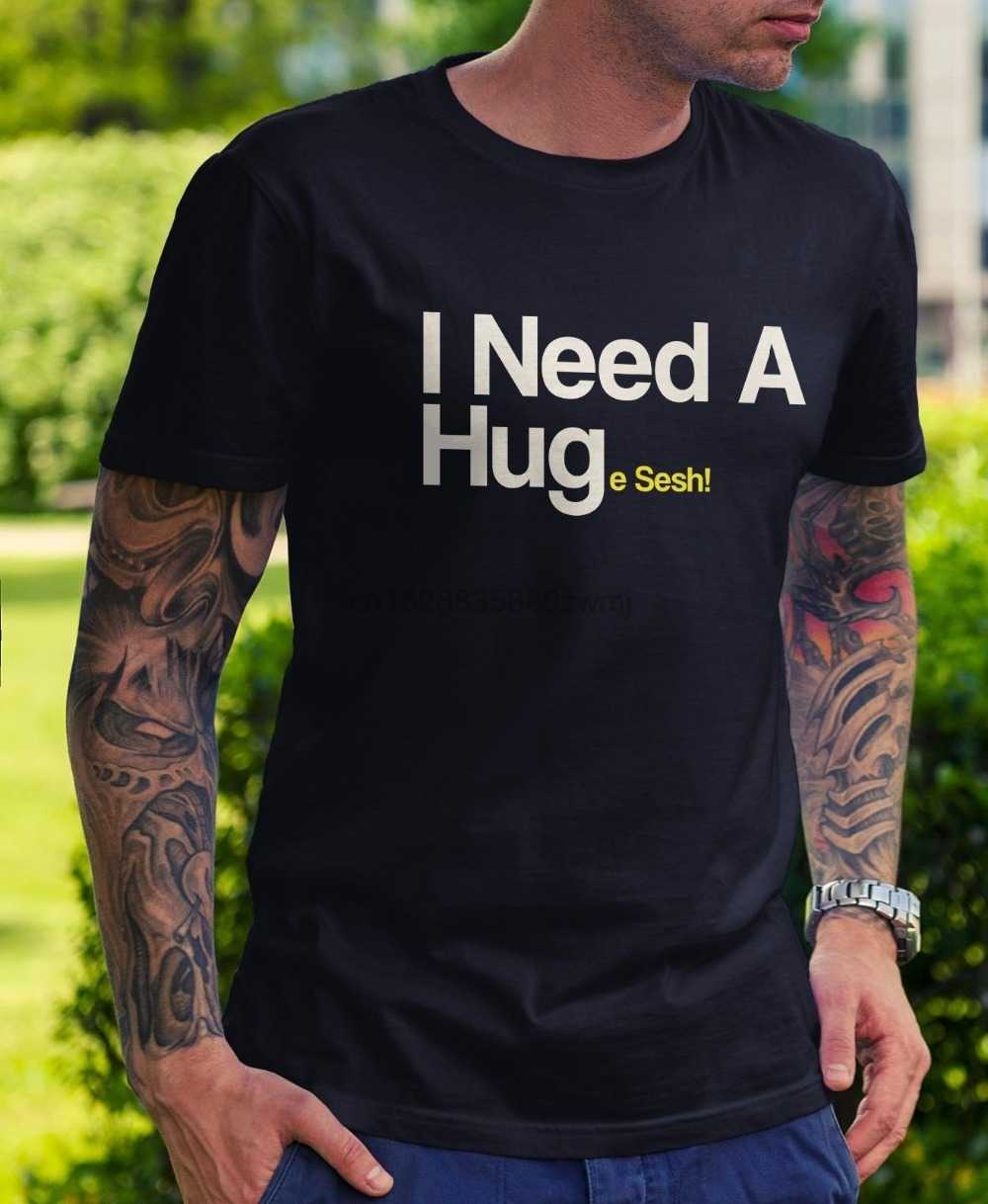 Фото Новая мужская футболка Модный популярный стиль огромный Sesh Мужская
