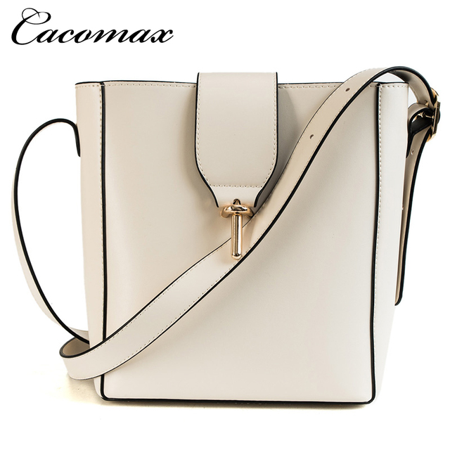 Burminsa Fall Bucket Shoulder Bags Female Large Capacity Designer Handbags Women Shopper Bags PU Leather Ladies Hand Bags 2018 5