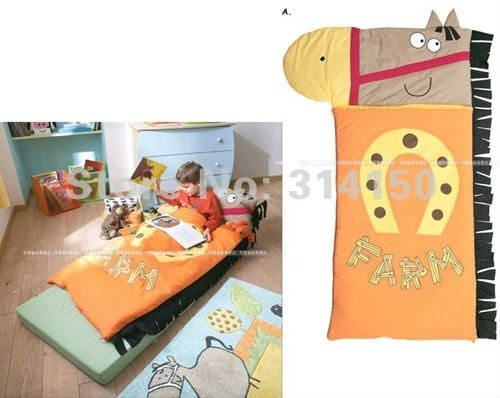 Baby sleeping bags lovely horse modeling Slumber bags baby clothing costume winter thick warm cotton 1pcs/lot