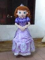 Luksusowy projekt w wersji dla dorosłych maskotka kostium princess Sofia Sofia pierwsza maskotka dla dorosłych kostium darmowa wysyłka