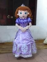 cosplay costumes adult mascot costume princess Sofia adult Sofia the first mascot costume free shipping