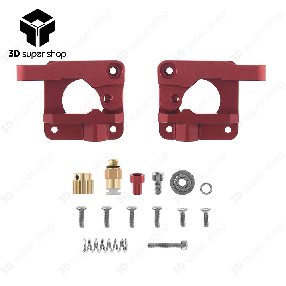 3d Printer Parts Mk8 Cr10 Extruder Aluminum Alloy Block Bowden Stable Filament Supply 2full Metal Alloydiy Need To Assemble By Yourself 3high Quality 4with Better Stronger Pressure Pushing The Into