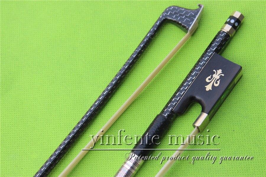 Здесь можно купить   X-029 # new one  4/4 Violin Bow   Carbon Fiber Fine Flame Sliver String High Quality Спорт и развлечения