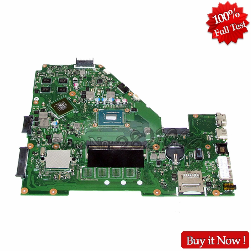 где купить NOKOTION Laptop Motherboard For ASUS X550CC X550CL Main Board 1007U CPU Onboard with Graphics Card дешево