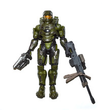"Halo Collector Series Spartan Master Chief Battle Damaged 6"" Loose Action Figure FREE SHIPPING"