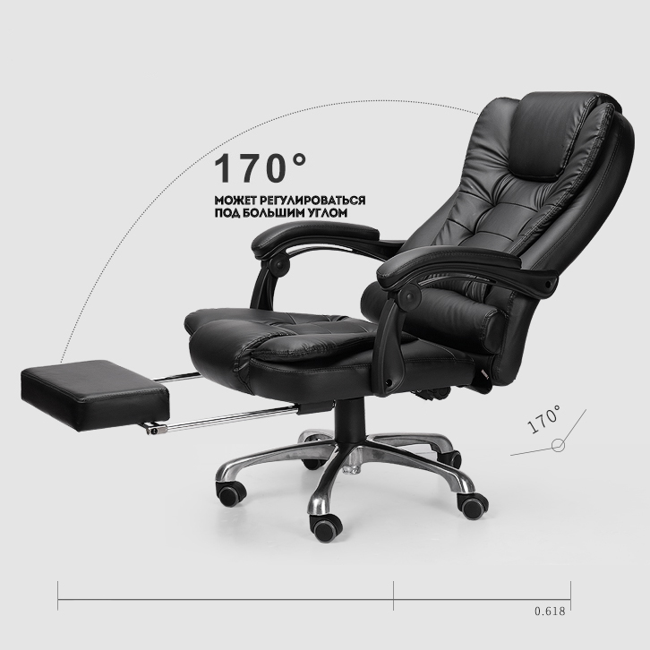 Купить с кэшбэком special offer office chair computer boss chair ergonomic chair with footrest free shipping