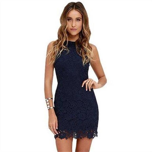 5XL Plus Size Women Summer Lace Dress Sleeveless Sexy Elegant Crochet Short Halter Yellow Dresses Floral vestidos verano 2018 6